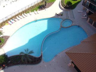 Outdoor pools at Sea Chase